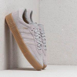 BNWT | ADIDAS SAMBAROSE - Grey Sneakers